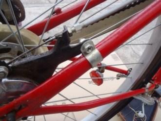 自転車タイヤ交換