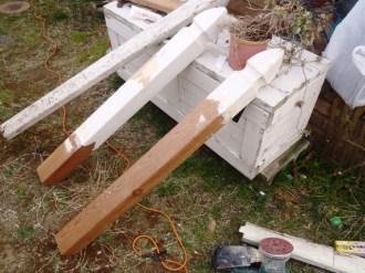 フェンス修理