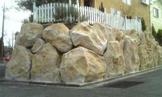 擬岩仕上げ