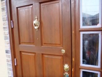 ドア塗り直し