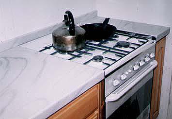 キッチンDIY その3 カウンタートップ、シンク、食器洗い機取り付け