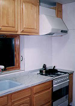 キッチンDIY その4 レンジフード