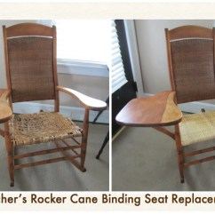 Teacher Rocking Chair Floor Uk Rare S Brought Back To Life Emza Caning Weaving