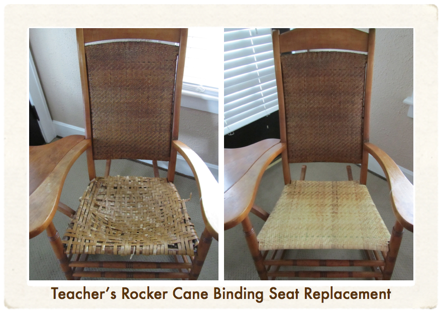teacher rocking chair large slipcover rare s brought back to life emza all my work is special me but every once and a while i get the opportunity on really pieces this has been in its owner