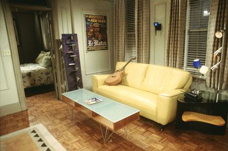 Lintrieur des sries TV  lappartement de Friends