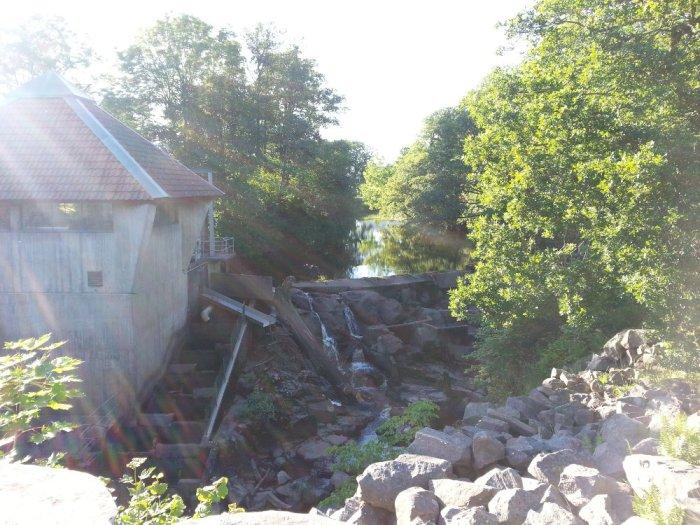 Barrage proche Falkenberg