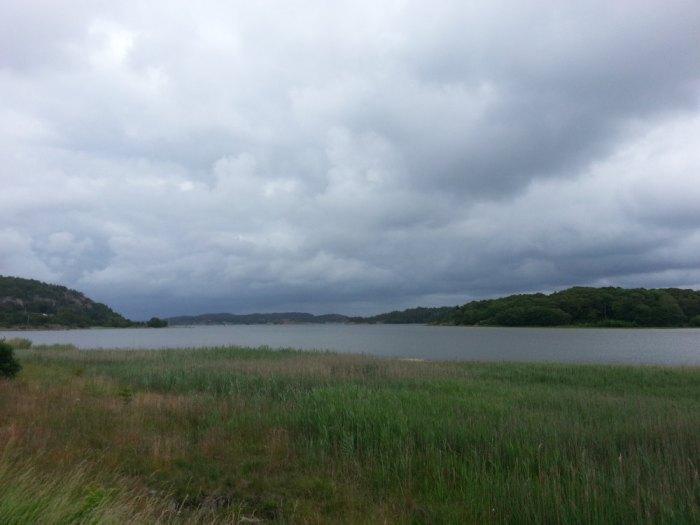 Le détroit de Skagerrak autour de l'île de Tjörn