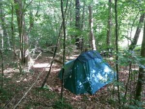 Camping sauvage bivouac