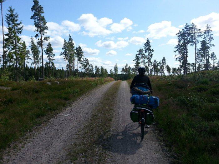 Sentier de campagne Suède