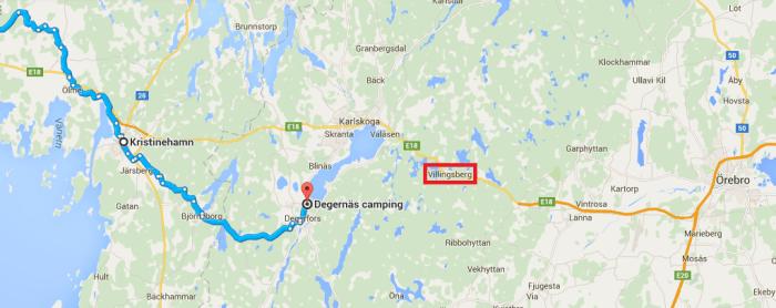 Degernäs Camping à vélo