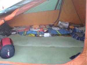 Tente Quechua Forclaz 3 intérieur