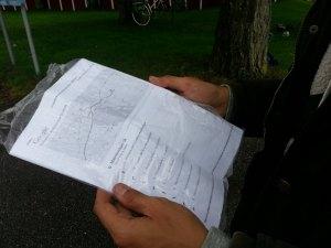 Cartes imperméables voyage à vélo