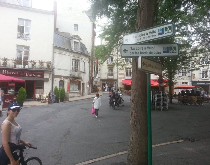 Balisage Loire à Vélo Saumur