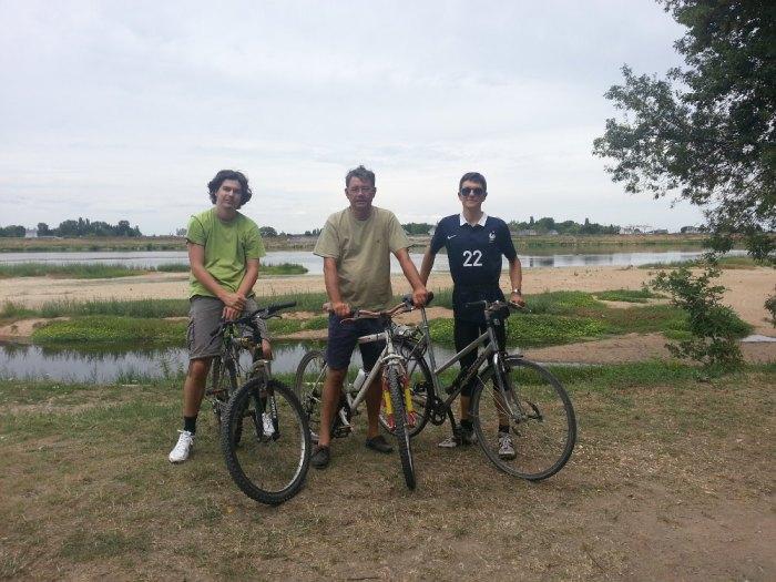 Bords de Loire à vélo