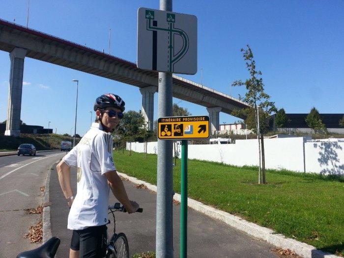 Balisage Loire à Vélo Vélodyssée Nantes