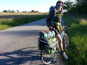 Quechua Forclaz 3 voyage à vélo bivouac