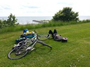 Repos voyage à vélo