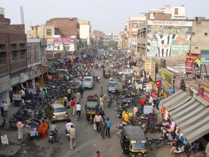 Une rue d'Amritsar