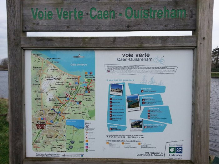 Carte de la voie verte