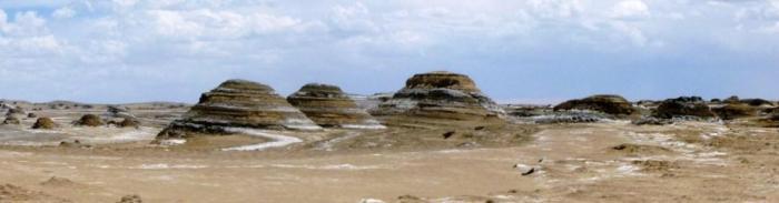 Dans le désert du Qinghai