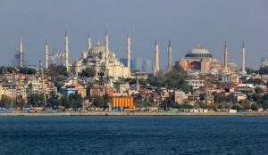 Sainte-Sophie et la Mosquée Bleue