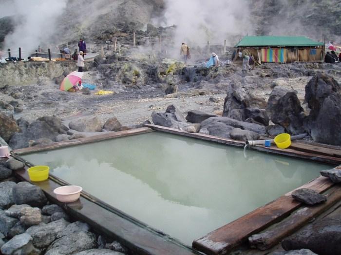 Source chaude de Tamagawa