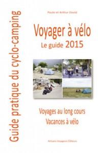 couverture Voyager à vélo guide pratique du cyclo-camping