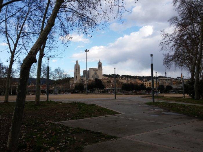 L'arrivée sur Girona