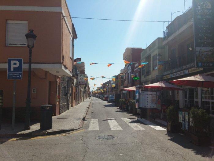 El Palmar, dans l'arrière-pays valencien