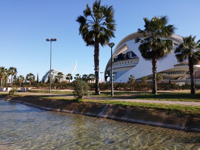 La cité des sciences de Valencia