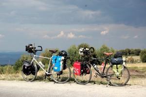 Vélos de voyage équipés