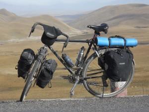 vélo de voyage équipé