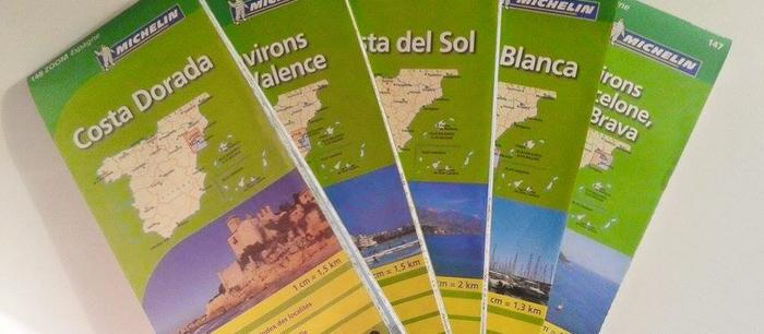 cartes voyage espagne