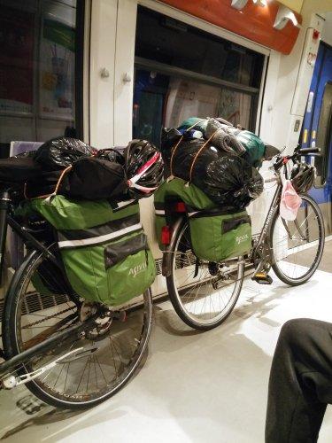 Espace vélo TER Narbonne Perpignan