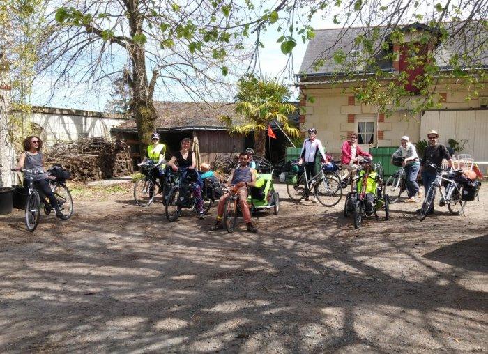 Vélos volants à Saumur