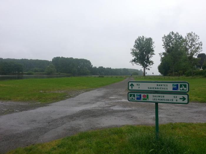Balisage Loire à Vélo Angers