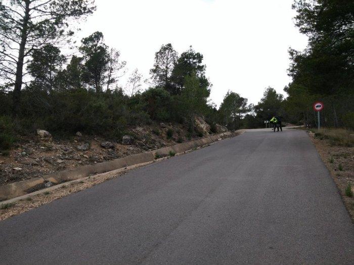 Route de montagne proche de Jalande (2)