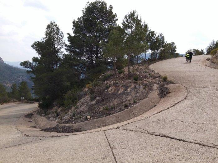 Route de montagne proche de Jalande (3)