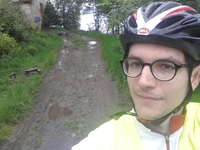 Sentier boueux Maine Angers