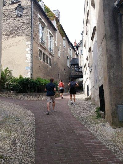 Dans les ruelles de Blois