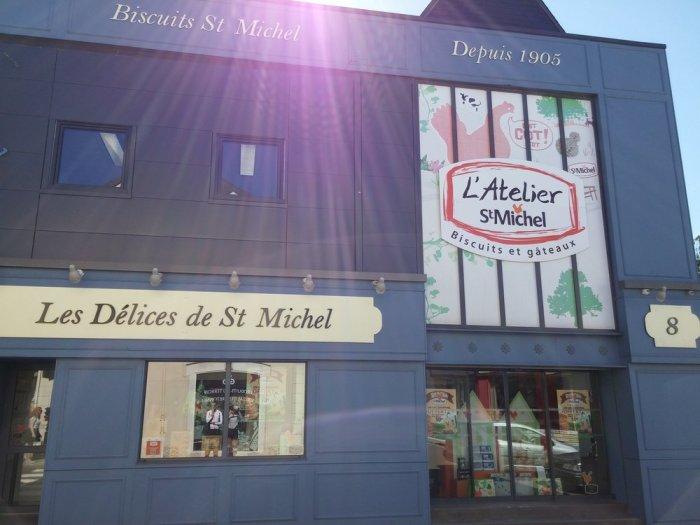 la biscuiterie Saint-Michel