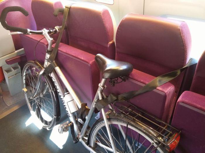 Le vélo dans le TGV