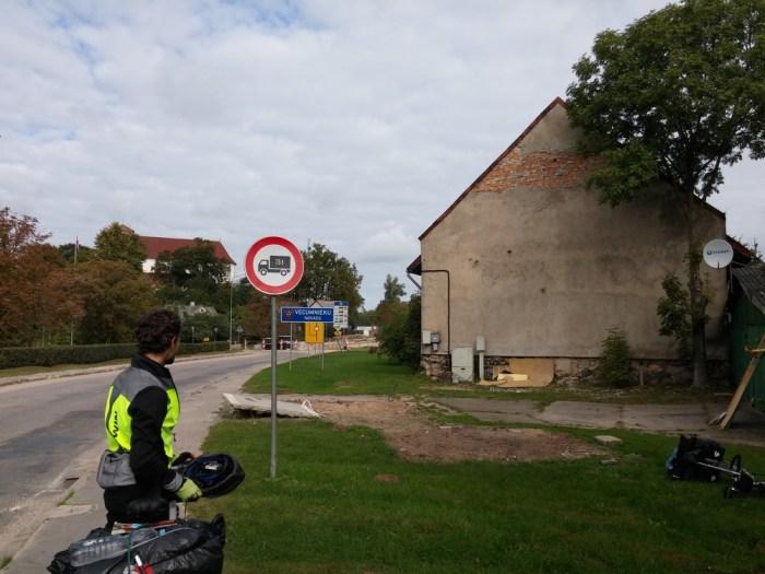 la frontière lettone à Vecumnieki