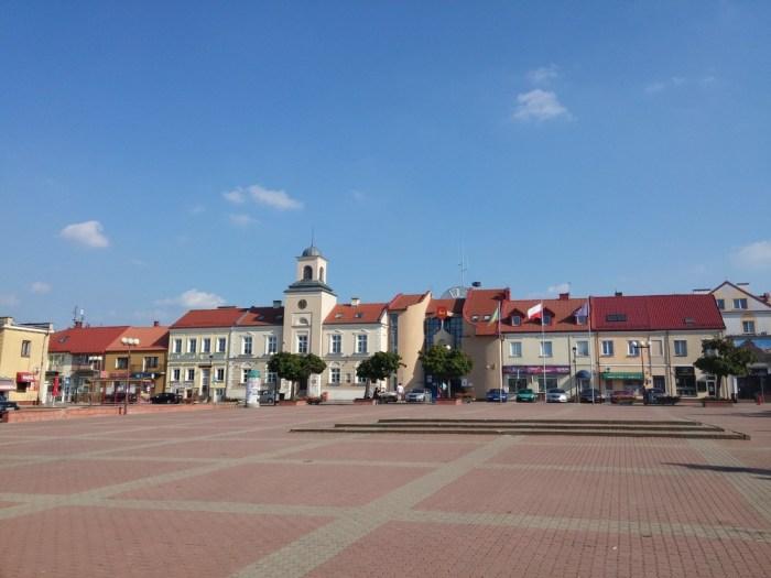 le centre-ville de Lomza