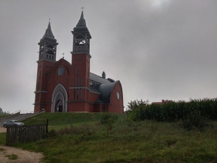 une église à Grajewo