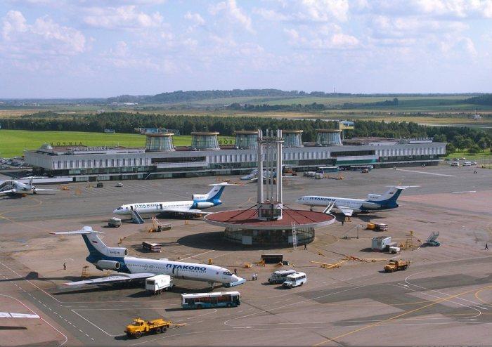 L'aéroport Pukovo de Saint-Pétersbourg
