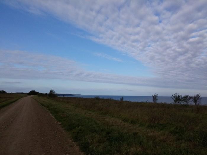 longer la Baltique de bon matin