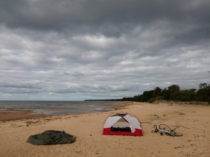 Chambre MSR Elixir 3 sur la plage