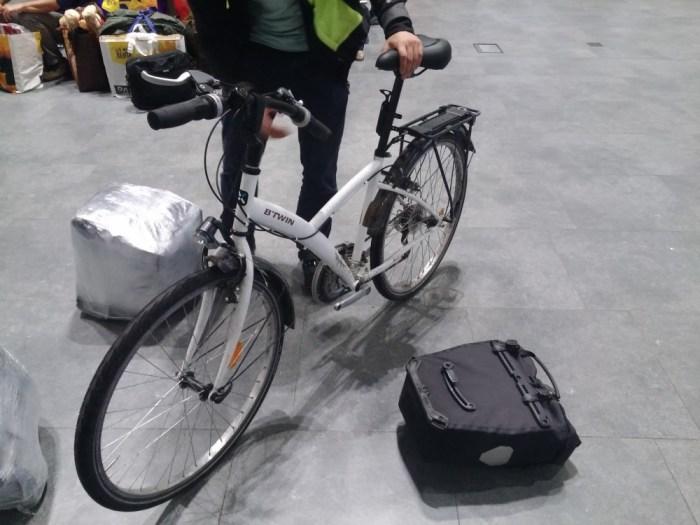 Mettre son vélo dans l'avion sans protection