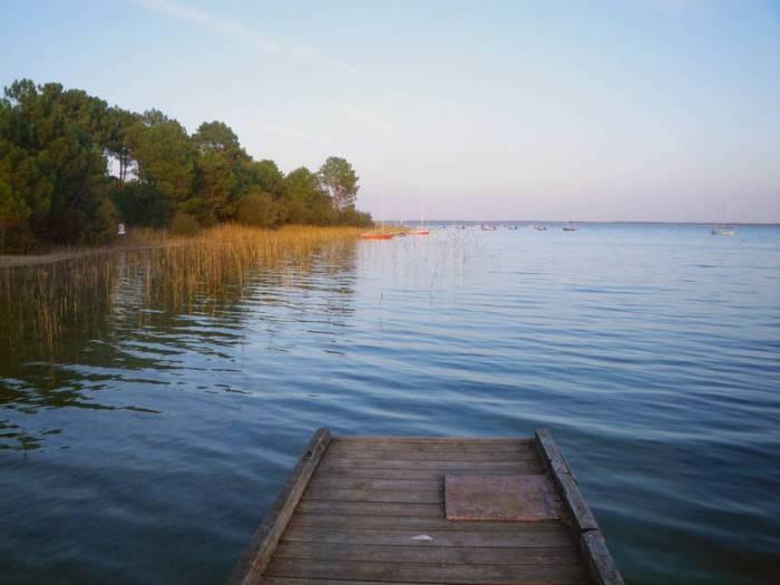 Vélodyssée - Lac d'Hourtin